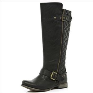 Vionic Tall Black Riding Boots Size 5